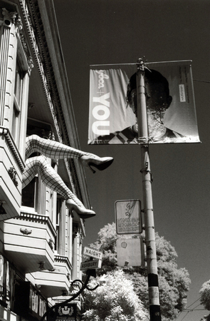 Legs on Haight Street