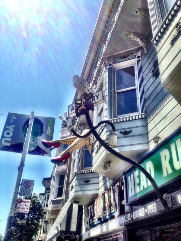 Haight ST STOREFRONTS