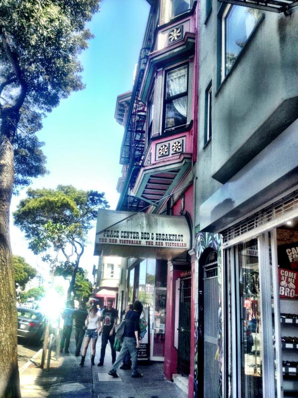 On Haight St.